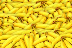 Bananas, Fruit, Yellow, Healthy Stock Images