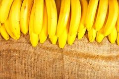 Bananas grapes Royalty Free Stock Photo
