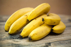 Bananas. Healthy and tasty food Royalty Free Stock Image