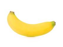 Bananas isoladas no branco Fotos de Stock Royalty Free