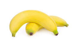 Bananas on isolated background Royalty Free Stock Images