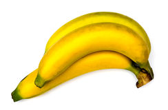 Bananas isolated on white. Royalty Free Stock Photography