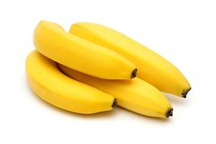 Bananas. Isolated on white backgorund Stock Photo
