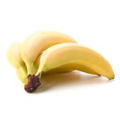 Bananas isolated on white background Royalty Free Stock Images