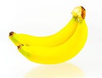 Bananas isolated white background. Bananas isolated on white background Stock Photos