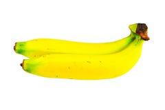 Bananas isolated on white background.  Stock Photos