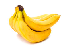 Bananas isolated Royalty Free Stock Photography