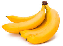 Bananas isolated Stock Photo