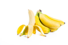 Bananas isolated Stock Images