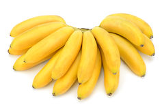 Bananas. Isolated on a white background Stock Photography