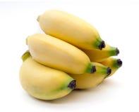 Bananas isolated on the white background.  Stock Photo