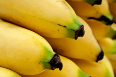Bananas isolated on the white background.  Royalty Free Stock Photography