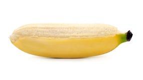 Bananas isolated on the white background.  Royalty Free Stock Photo
