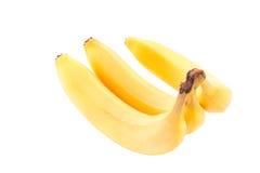 Bananas isolated on white Stock Photography