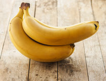 Bananas isolated Royalty Free Stock Images