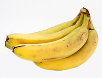 Bananas maduras fotos de stock royalty free