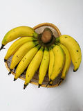 Bananas maduras Foto de Stock Royalty Free