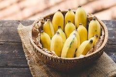 Bananas maduras frescas Fotografia de Stock Royalty Free