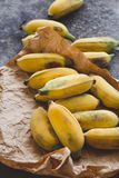 Bananas maduras frescas Imagens de Stock