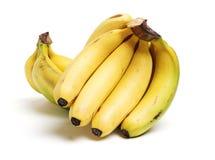 Bananas maduras frescas imagem de stock