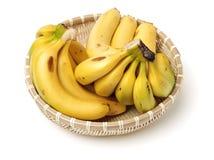 Bananas maduras frescas fotografia de stock