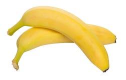 Bananas maduras orgânicas Foto de Stock
