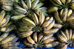 Bananas at the market Stock Photo