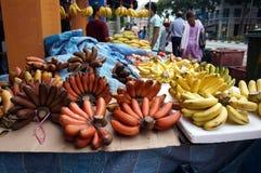 Bananas on the market Stock Photo