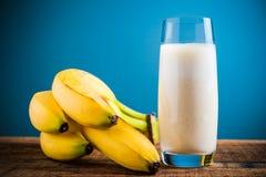 Bananas milkshake Royalty Free Stock Photo