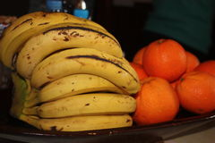 Bananas oranges. Frut Products  of Morocco Royalty Free Stock Photography