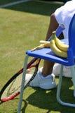 Bananas para a energia imagens de stock royalty free