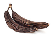Bananas podres imagem de stock royalty free