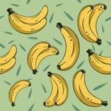 Bananas seamless 2 Royalty Free Stock Photography