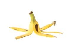 Bananas Skin, Thai Banana isolated on white Royalty Free Stock Photo