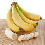 Bananas slices Stock Images