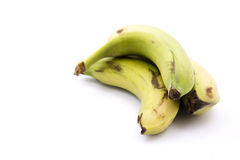 Bananas with spots Royalty Free Stock Images