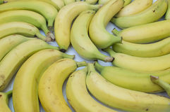 Bananas. Spread on the table Royalty Free Stock Image