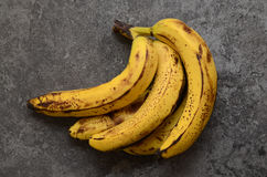Bananas on a table Royalty Free Stock Images