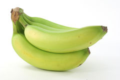 Bananas verdes Imagens de Stock Royalty Free