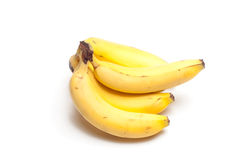 Bananas on White Royalty Free Stock Image