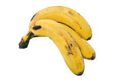 Bananas. On a white background Royalty Free Stock Images