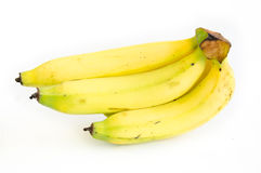 Bananas on the white background Stock Images
