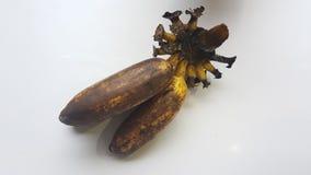 Bananas. On white background Stock Photos