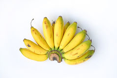 Bananas. On a white background stock image