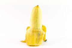 Bananas  on white background. Asia Royalty Free Stock Images