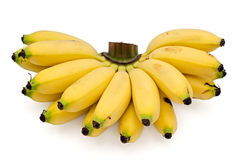 Bananas  on the white background Stock Photography