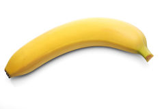 Bananas on white background - close-up Royalty Free Stock Photography
