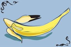 Banane illustration de vecteur