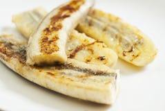 Banane arrostite Fotografie Stock