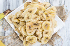 Banane bricht ab (die Nahaufnahme geschossen) Lizenzfreie Stockfotos
